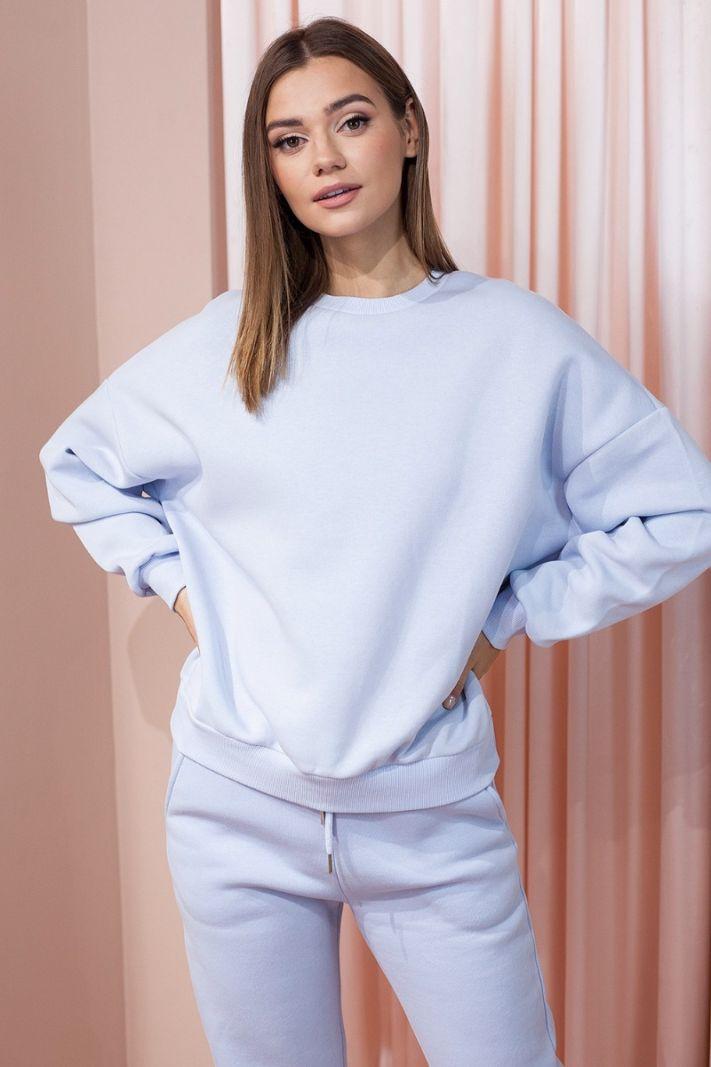 Džemperis žydros spalvos