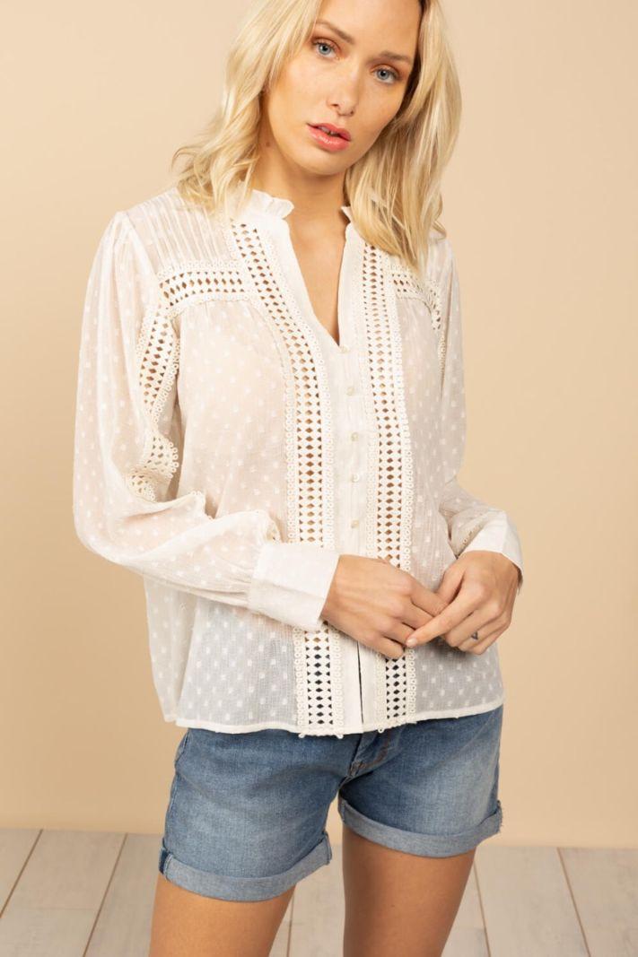 Peršviečiamo audinio marškiniai