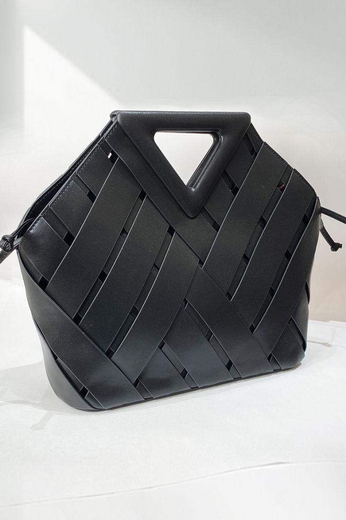 Odinis krepšys juodos spalvos